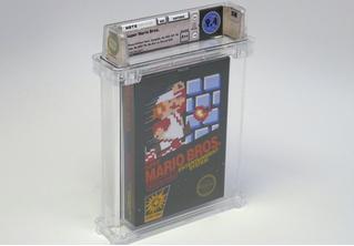 Старый нераспечатанный картридж Super Mario Bros продали на аукционе за 100 тысяч долларов