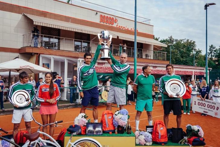 Фото №6 - Состоялся первый благотворительный теннисный турнир BoscoFriendsOpen