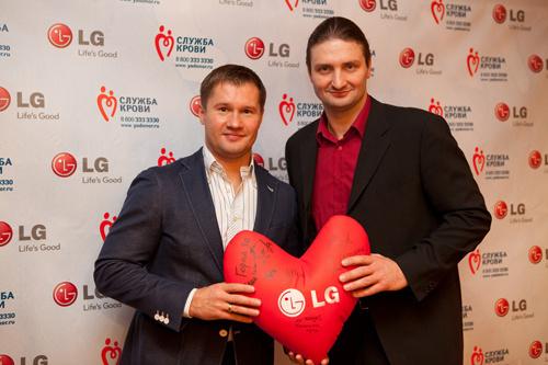 LG Electronics и донорство крови