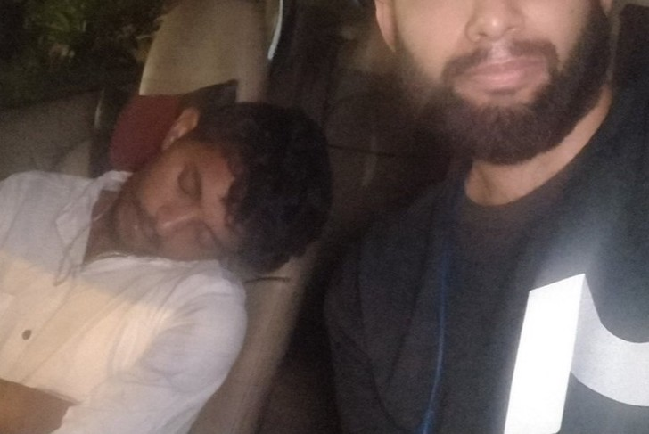 Фото №1 - Клиент обнаружил на месте водителя «Убера» вдрызг пьяного мужика и повез себя сам
