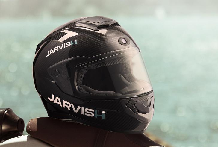 Фото №1 - Наиболее технологичный мотоциклетный шлем (видео)