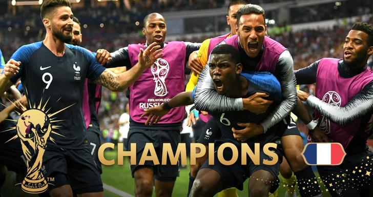 Фото №1 - Роботы все-таки убили Хорватию! Французы стали чемпионами мира