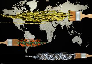 Камуфляжи всех стран мира на одной карте