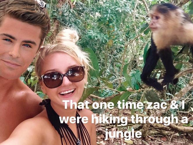 Девушка находчиво исправила фотографии из отпуска, чтобы на них не было ее бывшего парня