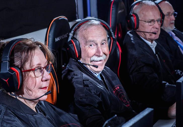 Фото №1 - В бой идут одни старики: команда пенсионеров выступит на турнире по CS: GO