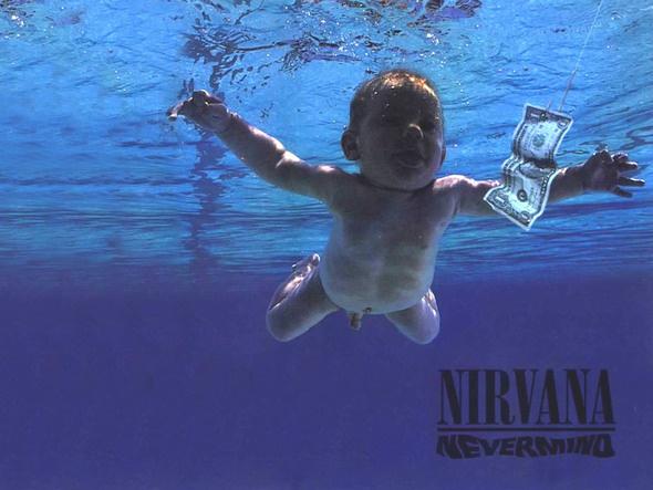 Младенец с обложки альбома Nirvana