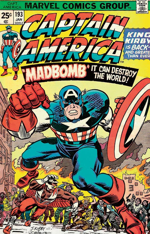 Кирби приводит Капитана Америку в привычный вид