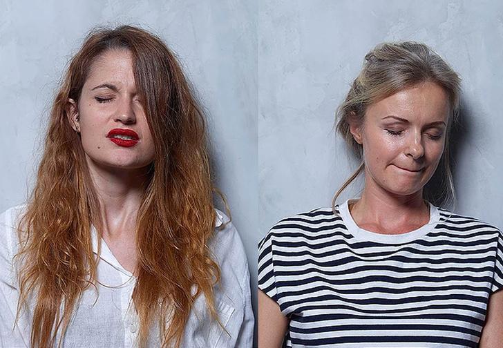 Фото №1 - Фотограф снял лица женщин до, в момент и сразу после оргазма