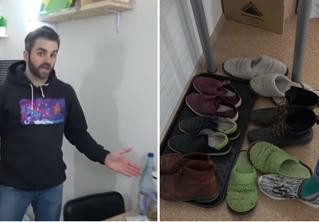 Американец снял видео о квартире, в которой живет в России