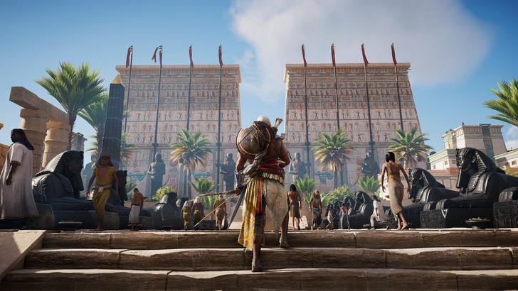 Фото №6 - Экскурсия в Древний Египет: как из игры Assassin's Creed Origins делают виртуальный музей