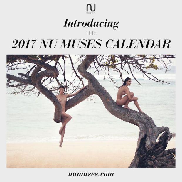 Фото №1 - Первые долгожданные кадры из эротического календаря Nu Muses!