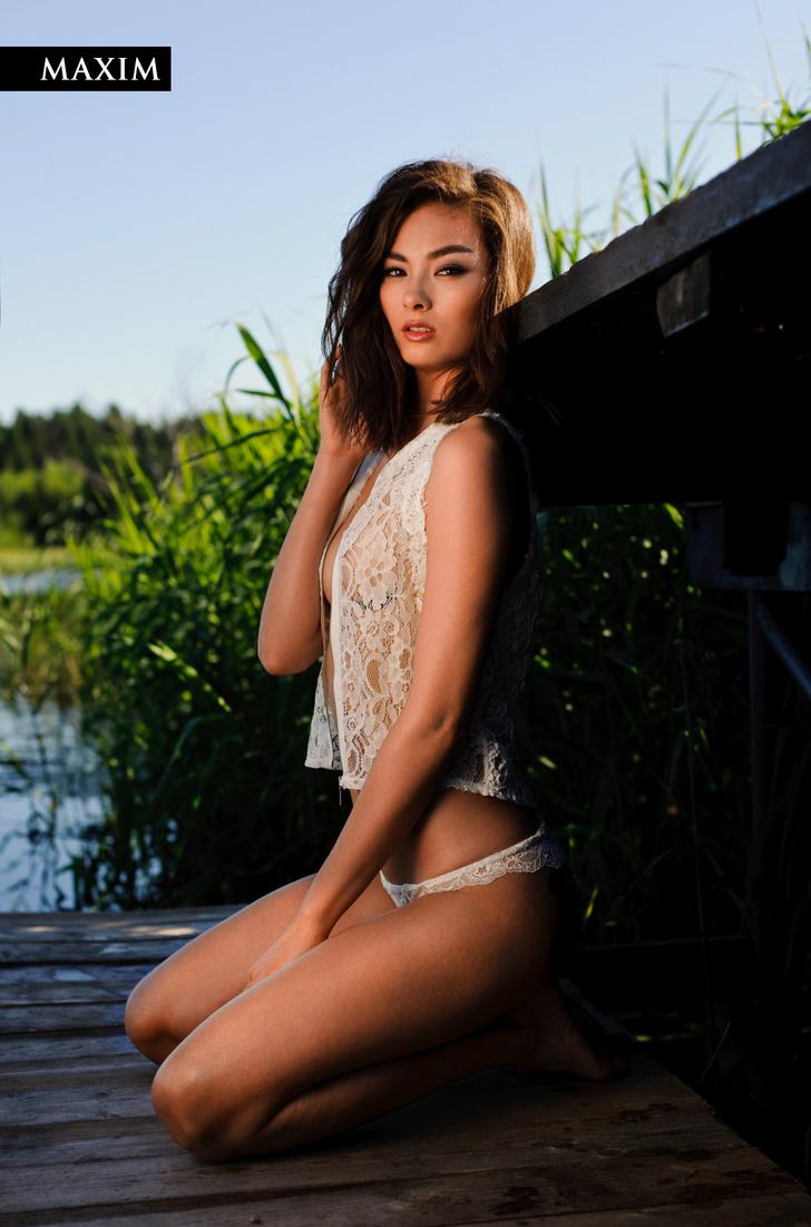 Третье место MISS MAXIM 2017: Лин Цой из Москвы!