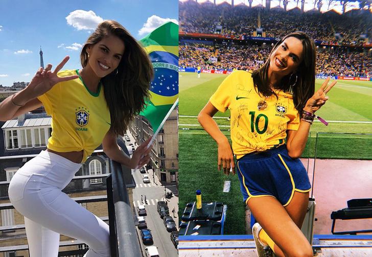 Фото №1 - Как горячие бразильские супермодели проводят время на ЧМ-2018! (ФОТОРЕПОРТАЖ)