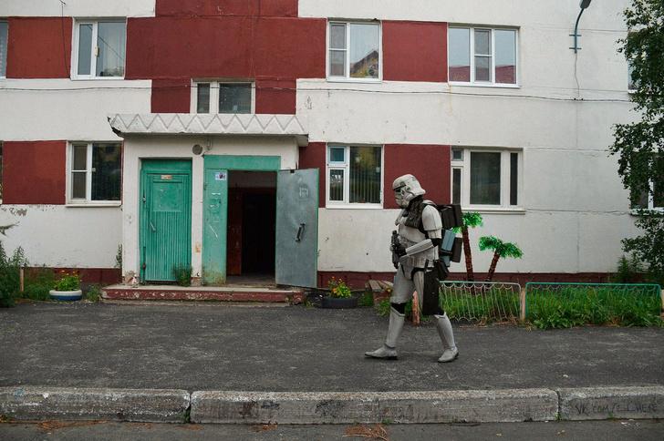 Фото №20 - Вот что получилось бы, если бы голливудские фильмы снимали в России!