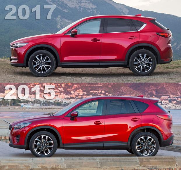Фото №3 - Кое-что о новом поколении Mazda CX-5