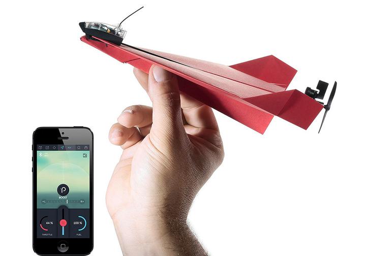 Фото №1 - Бумажный дрон Powerup 3.0 и другие мужские гаджеты месяца