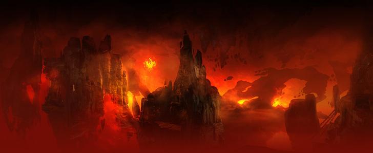 Фото №1 - Doom! Ад! Сатана! Дьявольски кровавые и эксклюзивные концепт-арты из грядущего игроужастика