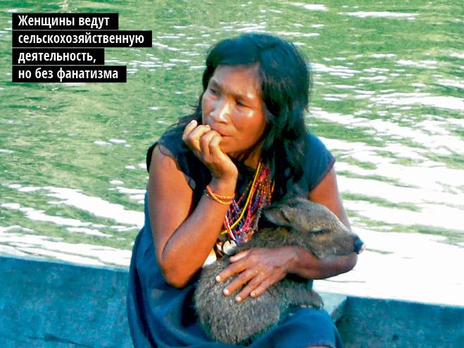 Фото №11 - Люди без завтра. Рецепты счастья от индейцев пираха