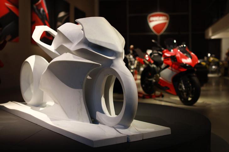 Фото №1 - Мотоциклы Ducati оккупировали музей