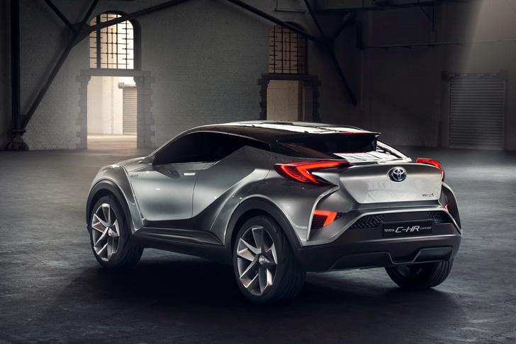 Фото №4 - Toyota C-HR: дизайн рулит