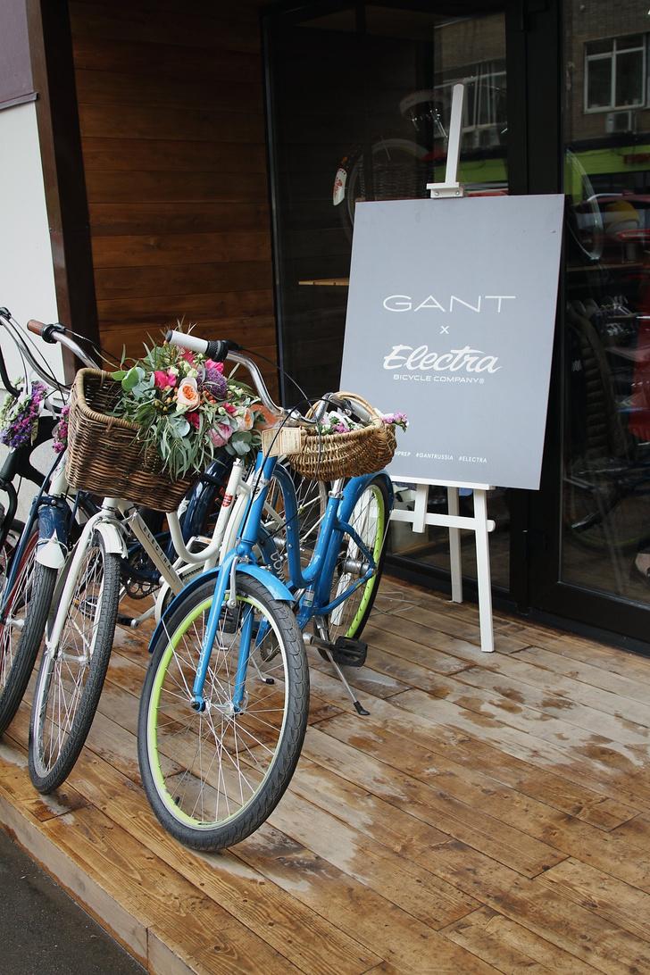 Фото №8 - Велолето с Gant и Electra: совместное мероприятие брендов в Artplay