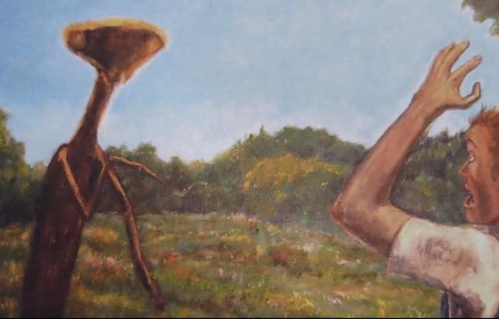 Фото №2 - Художник рассказал, как инопланетянка лишила его девственности, — и теперь он пишет картины о пришельцах