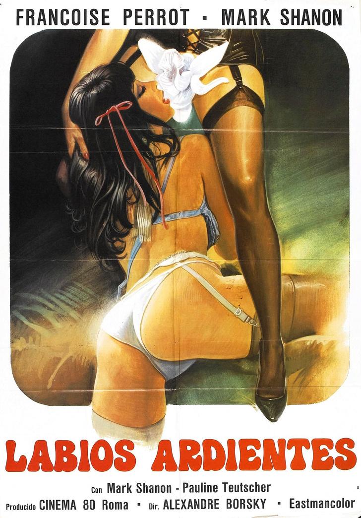 Фото №17 - 20 стильных афиш эротических фильмов