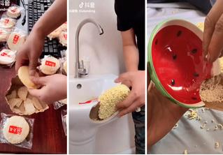 Этот умелец чинит сантехнику, мебель и посуду едой (вдохновляющее видео)