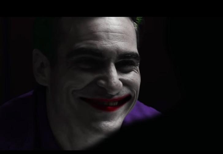 Фото №1 - Фанаты «сняли» свой трейлер «Джокера» с Хоакином Фениксом, и он крут!