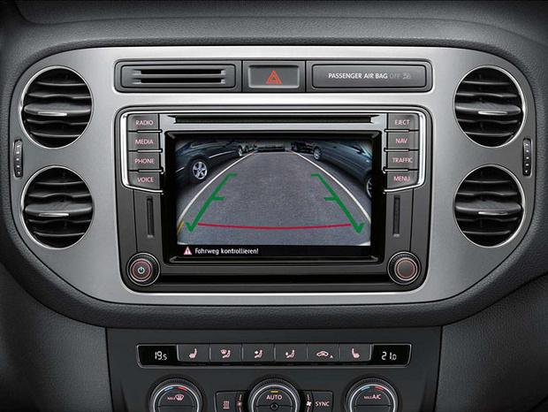 Приборная панель Volkswagen Tiguan Sport