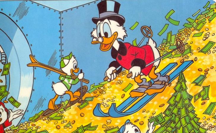 Фото №1 - Учёные постановили: для богатства надо родиться везучим