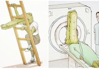 18 смешных иллюстраций о жизни крокодила