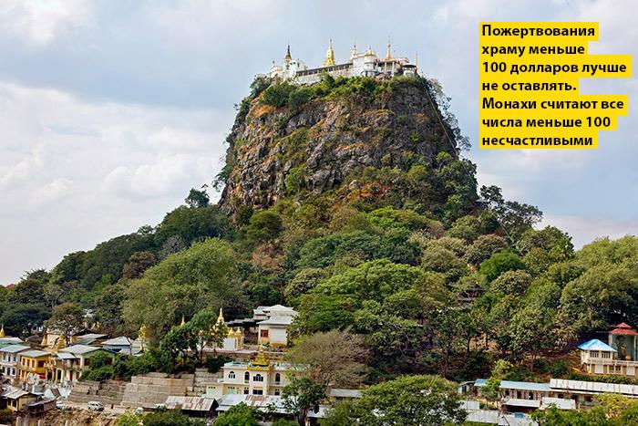 Фото №1 - Идеи для отпуска: Таунг-Калат, Мьянма