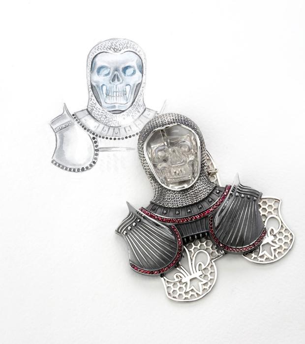 Фото №3 - О женщинах и насекомых: неординарные украшения от Dzhanelli Jewellery