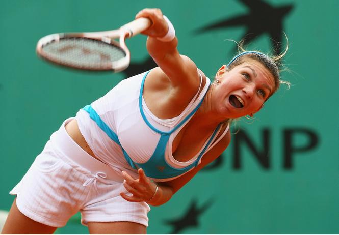 Симона Халеп, Открытый чемпионат Франции по теннису 2008