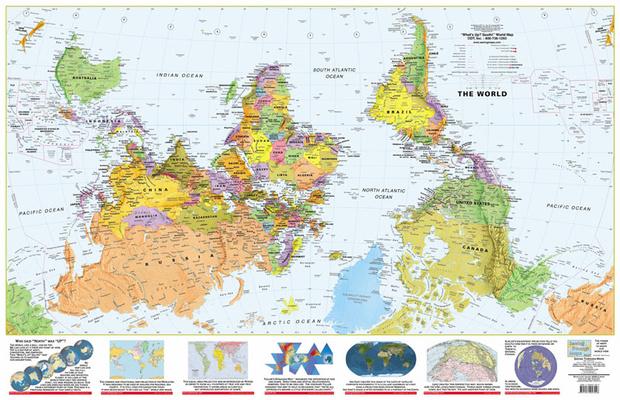 Фото №4 - Как выглядят карты мира в учебниках других стран