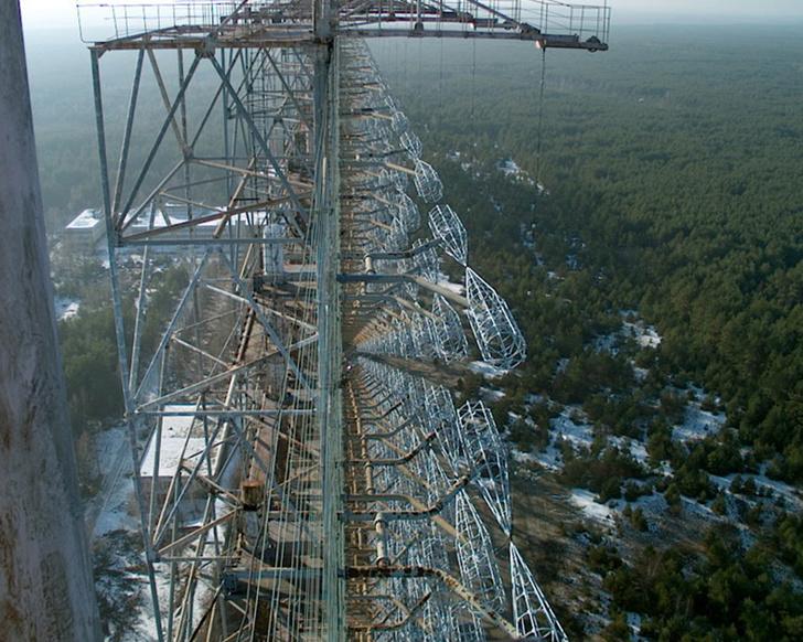 Фото №4 - Вид с воздуха на легендарную чернобыльскую «Дугу», и что это вообще такое