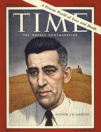 Джером Сэлинджер на обложке журнала Time