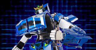 Японский робот-трансформер пересобирается в автомобиль за минуту! (ВИДЕО)