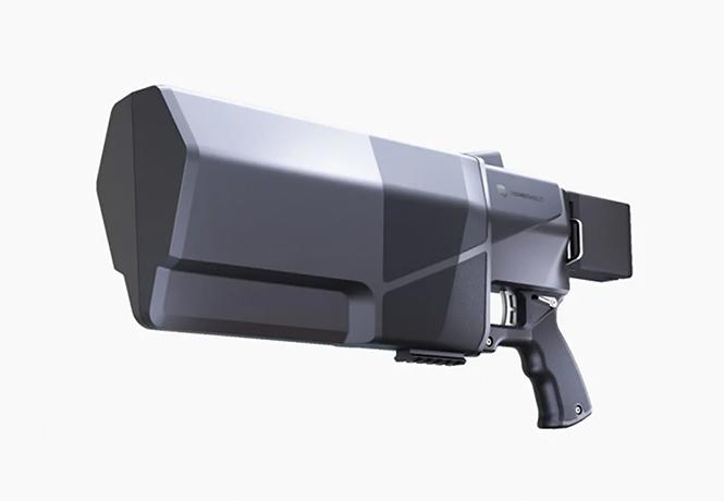Фото №1 - Выпущено новое оружие против дронов Dronegun MKIII