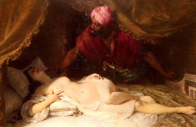 «Отелло и Дездемона», художник Адольф Вайс