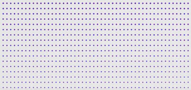 Фото №2 - Точки синие или фиолетовые? Оптическая иллюзия, которая заставит тебя усомниться в том, что ты можешь различать цвета