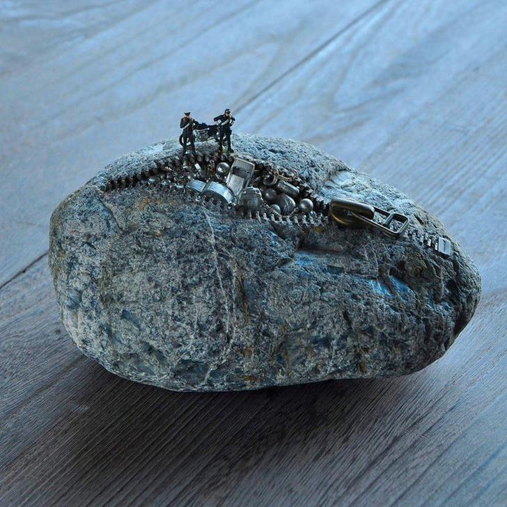 Фото №16 - Необычные скульптуры японского художника Хиротоши Ито