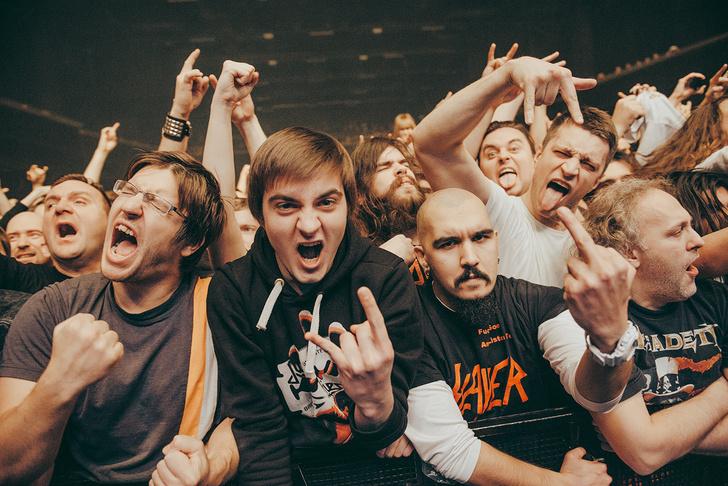 Фото №17 - Как разверзался ад на концерте трэш-металлистов Slayer и Anthrax
