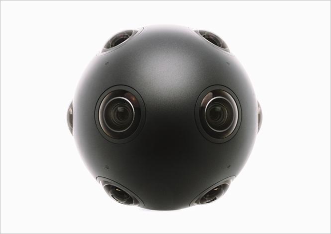 Стереоскопическая  камера Nokia Ozo
