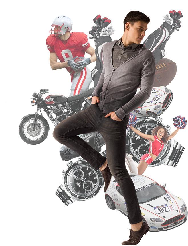 Рубашка-поло Dr. Koffer, кардиган Replay, джинсы DKNY Jeans, туфли Premiata
