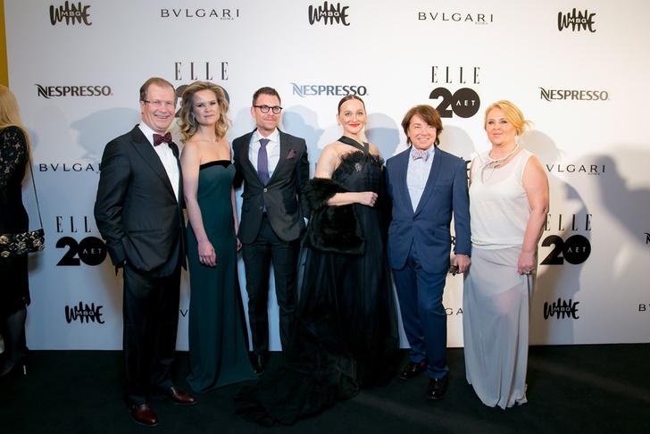 Фото №4 - Празднование 20-летия бренда ELLE в России