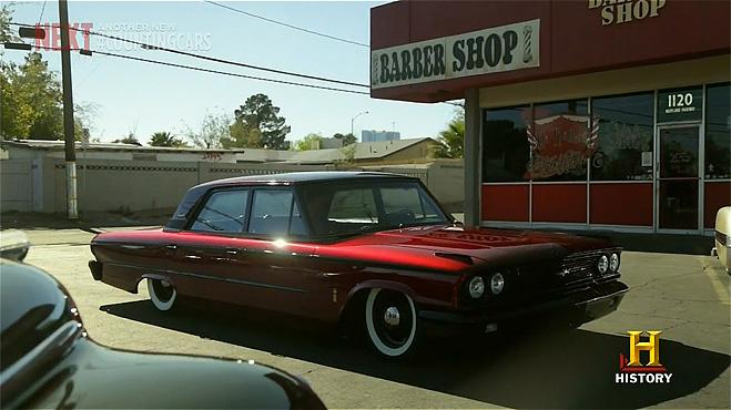 Ford Galaxie 1963 после переделки