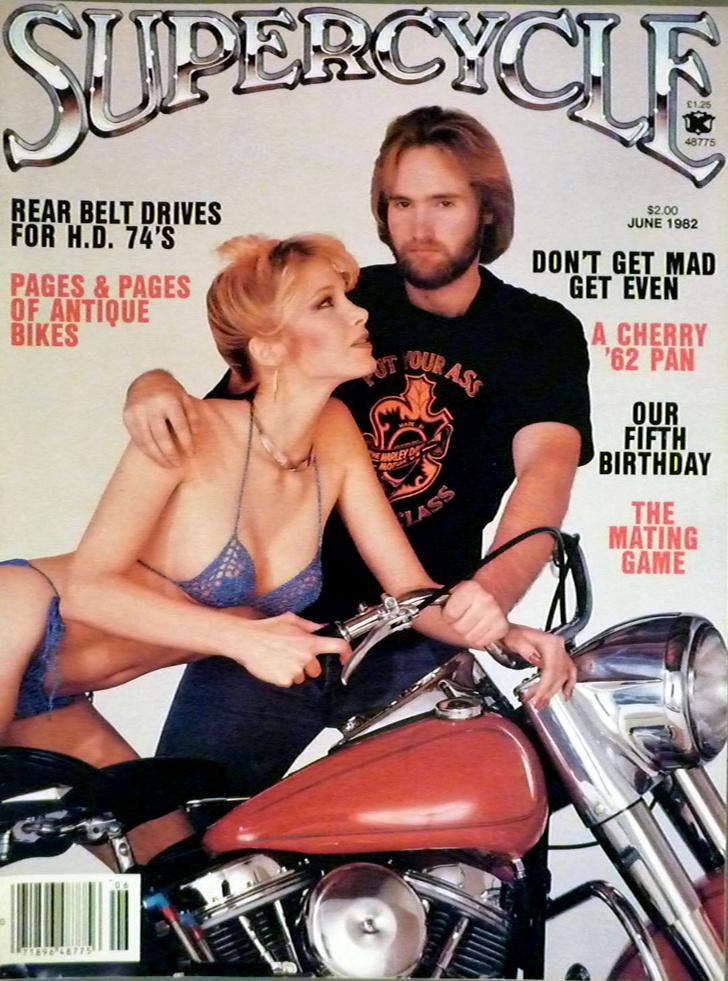 Фото №12 - Сексуальные девушки байкеров из 1980-х!