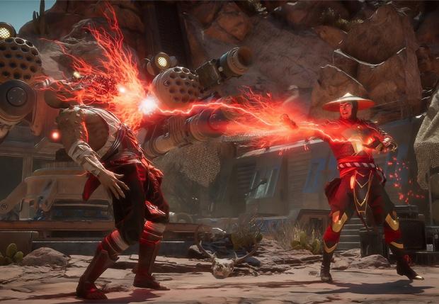 Фото №1 - Журналисты MAXIM были жестоко избиты в игре Mortal Kombat 11